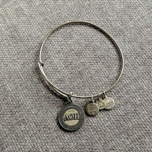 Alex and Ani Alpha Omicron Pi bracelet